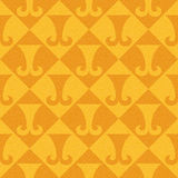 Abstract paneling pattern - seamless background - hipster symbol. Orange texture Stock Images