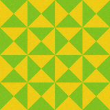 Abstract paneling pattern - seamless background - lemon and lime Stock Photography
