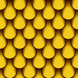Abstract paneling pattern - seamless background - lemon texture Royalty Free Stock Photos