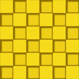 Abstract paneling pattern - seamless background - lemon texture Royalty Free Stock Images