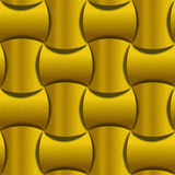 Abstract paneling pattern - seamless background - lemon texture Stock Photography
