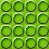Abstract paneling pattern - seamless background - lime texture Royalty Free Stock Photo