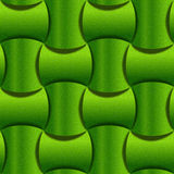 Abstract paneling pattern - seamless background - lime texture Stock Photography
