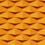 Abstract paneling pattern - seamless background - orange texture Stock Photography