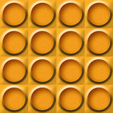 Abstract paneling pattern - seamless background - orange texture Royalty Free Stock Photos