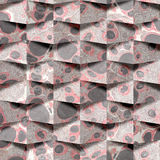 Abstract paneling pattern - seamless background - paper surface Royalty Free Stock Photos