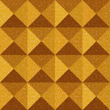 Abstract paneling pattern - seamless background - pyramidal patt Royalty Free Stock Photography