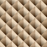 Abstract paneling pattern - seamless background - White Oak wood Stock Images