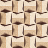 Abstract paneling pattern - seamless background - White Oak wood Royalty Free Stock Photos