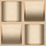 Abstract paneling pattern - seamless background - White Oak wood Stock Photo
