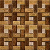 Abstract paneling pattern - seamless background - wood paneling Royalty Free Stock Images