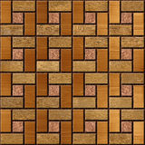 Abstract paneling pattern - seamless background - wood paneling Royalty Free Stock Photography