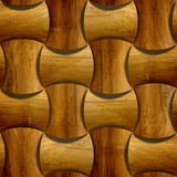 Abstract paneling pattern - seamless background - wood paneling Stock Image