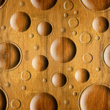 Abstract paneling pattern - seamless background - wood texture Stock Images