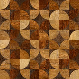 Abstract paneling pattern - seamless background - wood texture Stock Photos