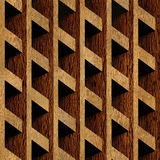 Abstract paneling pattern - seamless background - wood texture Stock Photography