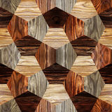 Abstract paneling pattern - seamless background - wood texture Royalty Free Stock Images