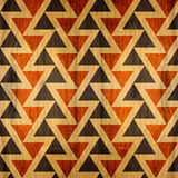 Abstract paneling pattern - seamless background - wood texture Royalty Free Stock Photo