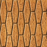 Abstract paneling pattern - seamless background - wood wall Stock Images