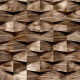 Abstract paneling pattern - seamless background - wood wall Royalty Free Stock Image