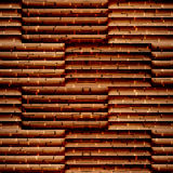 Abstract paneling pattern - seamless background - wooden surface Royalty Free Stock Photos