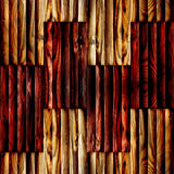 Abstract paneling pattern - seamless background - wooden surface Stock Photos