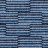 Abstract paneling pattern - seamless pattern - Blue denim jeans Royalty Free Stock Photo
