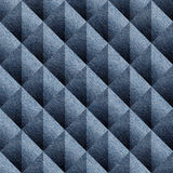 Abstract paneling pattern - seamless pattern - Blue denim jeans Royalty Free Stock Photos