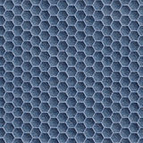 Abstract paneling pattern - seamless pattern - Blue denim jeans Royalty Free Stock Photography