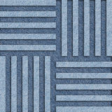 Abstract paneling pattern - seamless pattern - blue jeans. Background Stock Photos