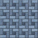Abstract paneling pattern - seamless pattern, blue jeans surface. Abstract paneling pattern - seamless pattern - blue jeans surface Royalty Free Stock Image