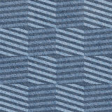 Abstract paneling pattern - seamless pattern - blue jeans textil Stock Photography