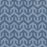 Abstract paneling pattern - seamless pattern, blue jeans textile Stock Photo