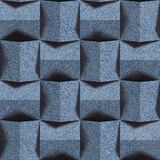 Abstract paneling pattern - seamless pattern, blue jeans texture Stock Image