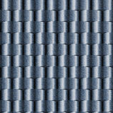 Abstract paneling pattern - seamless pattern, blue jeans texture Stock Images