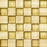 Abstract paneling pattern - seamless pattern - checkerboard Stock Photo