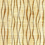 Abstract paneling pattern - seamless pattern - papyrus structure Stock Images