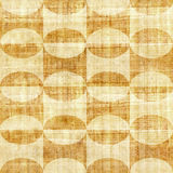 Abstract paneling pattern - seamless pattern - papyrus surface Stock Photo
