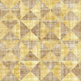 Abstract paneling pattern - seamless pattern - papyrus surface Royalty Free Stock Image