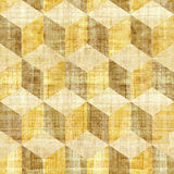 Abstract paneling pattern - seamless pattern - papyrus surface Stock Images