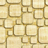 Abstract paneling pattern - seamless pattern - papyrus surface Royalty Free Stock Photography
