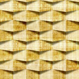 Abstract paneling pattern - seamless pattern - papyrus texture Royalty Free Stock Images
