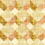 Abstract paneling pattern - seamless pattern - papyrus texture Royalty Free Stock Image
