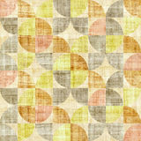 Abstract paneling pattern - seamless pattern - papyrus texture Stock Photography