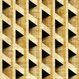 Abstract paneling pattern - seamless pattern - papyrus texture Stock Image