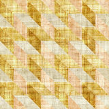 Abstract paneling pattern - seamless pattern - papyrus texture Royalty Free Stock Photo