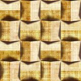 Abstract paneling pattern - seamless pattern - papyrus texture Royalty Free Stock Photography