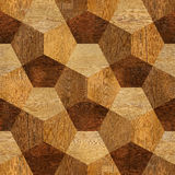 Abstract paneling pattern - seamless pattern - parquet flooring Stock Images
