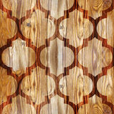 Abstract paneling pattern - seamless pattern - parquet flooring Royalty Free Stock Photography