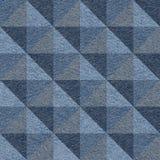 Abstract paneling pattern - seamless pattern - pyramidal pattern Royalty Free Stock Photos